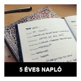 5 éves napló