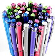 Swarovski köves toll, színes